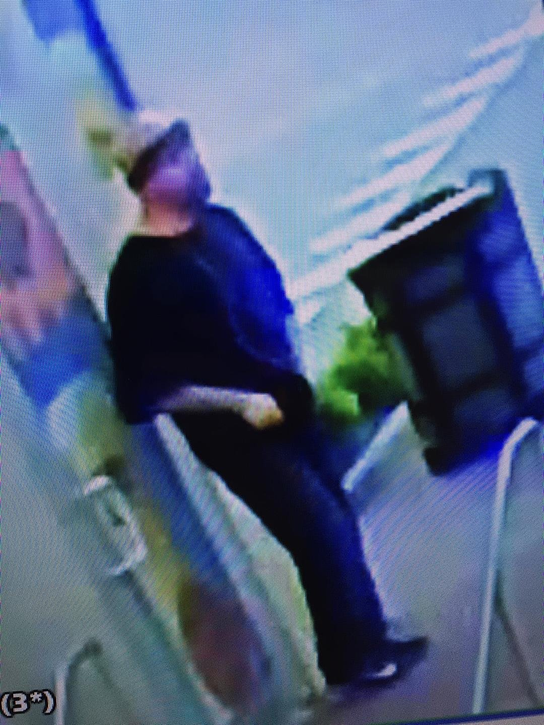 Police are seeking informationon a person of interestwanted in connection with a robbery in the Power & Light District. (KCPD)