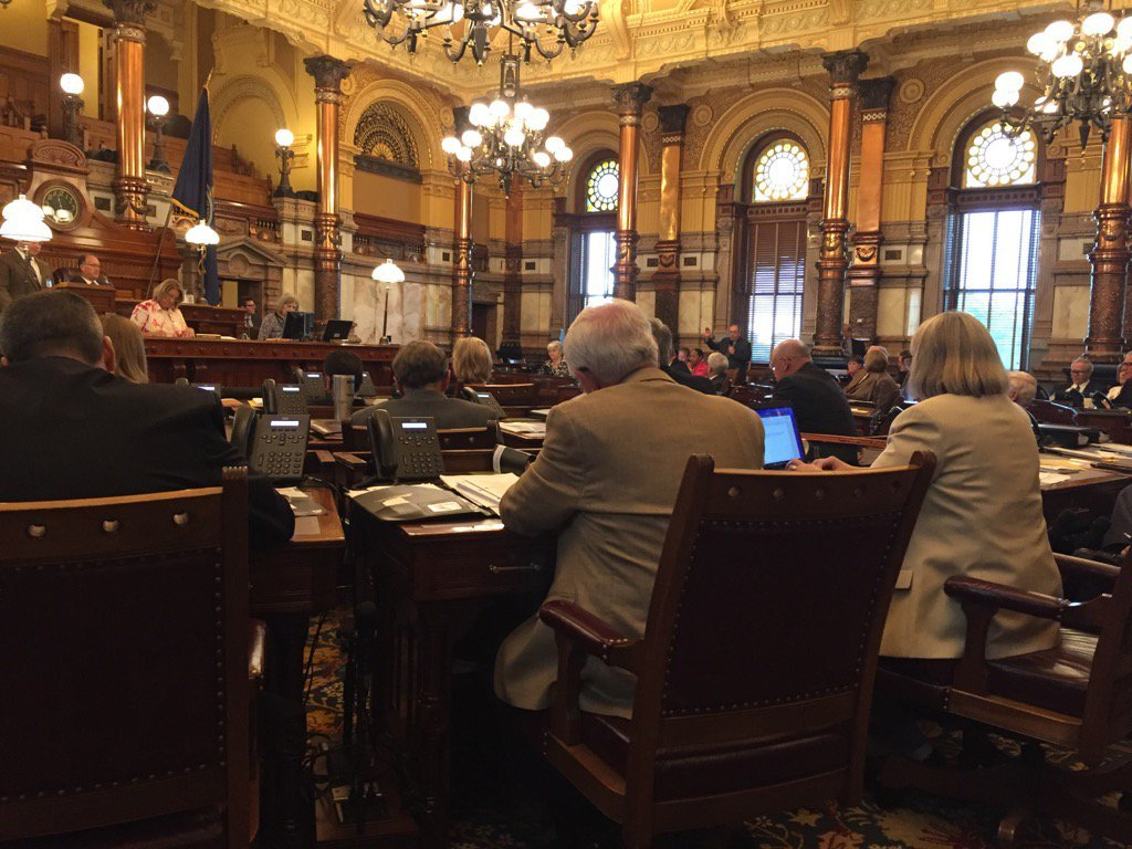 Kansas legislators are moving closer to approving a plan to increase state spending on public schools even as agreement keeps eluding them on raising taxes. (Caroline Sweeney/KCTV5 News)