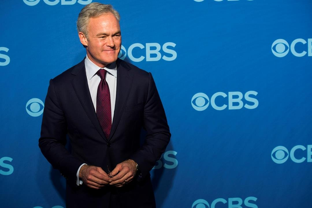 """ScottPelleyis out as """"CBS Evening News"""" anchor, and he'll be returning to full-time work at the network's flagship news magazine """"60 Minutes."""" (AP)"""