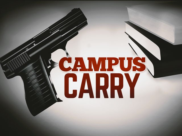 Thursday marks one month until concealed guns will make their way onto college campuses in Kansas. (AP)