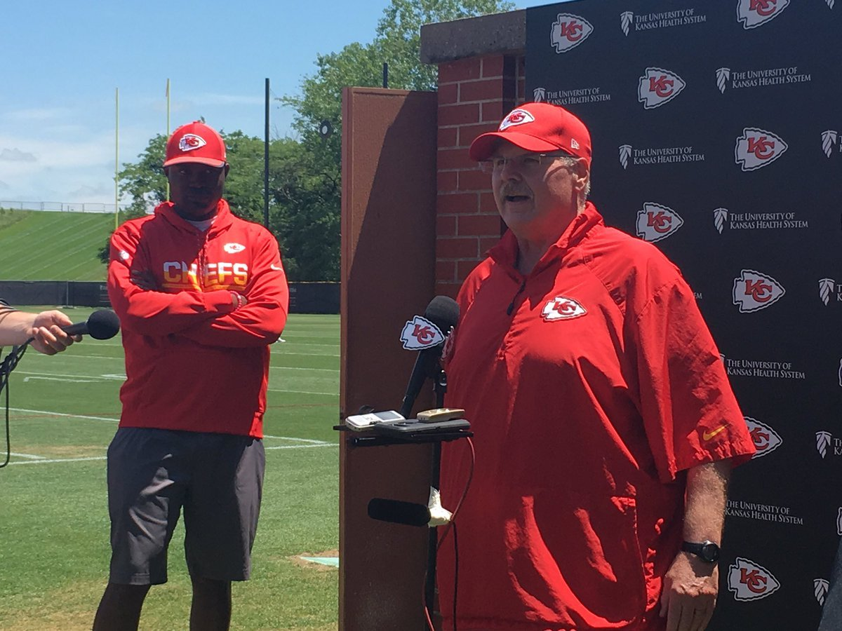 Week two of OTAs from Kansas City Chiefs camp ended with a solid workout, but it also ends with some frustration as head coach Andy Reid is starting to get a little stressed about answering questions about who's here and who's not. (Andrew Carter/KCTV5)