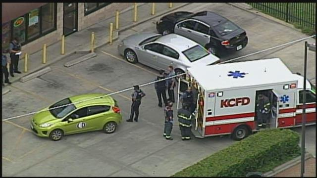 The shooting happened around 4 p.m. at Independence and Maple in Kansas City.  (KCTV5)