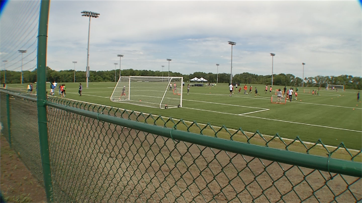 In a ribbon cutting ceremony on Thursday afternoon, the new 52-acre Wyandotte Sporting Fields were unveiled. (KCTV)