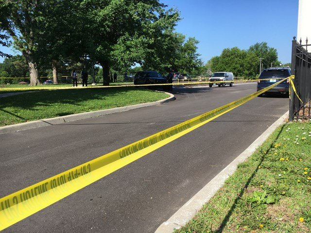 The body was found about 7:45 a.m. near 77th Street and Holmes Road. (KCTV5)
