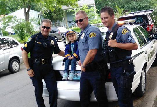 "Her aunt said, ""There is nothing more in this world that she wants more than to be a cop."" (Submitted to KCTV)"