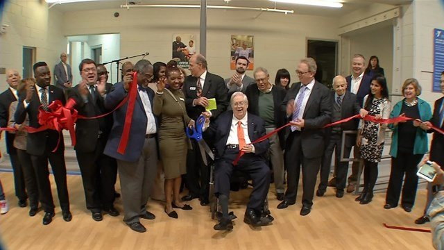 The partnership between Truman Medical Center and the YMCA was announced in front of a large crowd gathered to celebrate the launch of the clinic. (KCTV5)