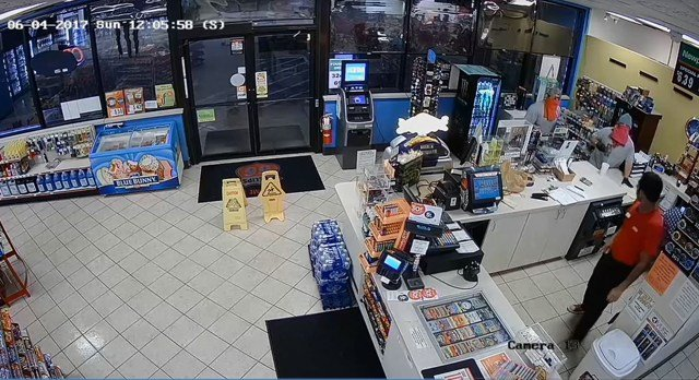The employees opened the register, the men took an undisclosed amount of cash and then fled on foot from the store. (Miami County Sheriff's Office)