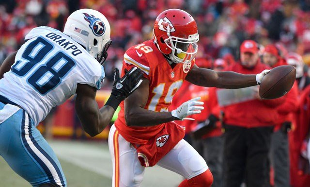 Chiefs coach Andy Reid says the move to cut wide receiver Jeremy Maclin had been under consideration for a while, but Reid refused to discuss the reasons behind last week's stunning decision. (AP)
