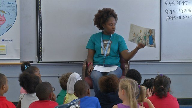 The long-term vision for Lead to Read KC is to have 5,000 reading mentors by 2020. (KCTV5)