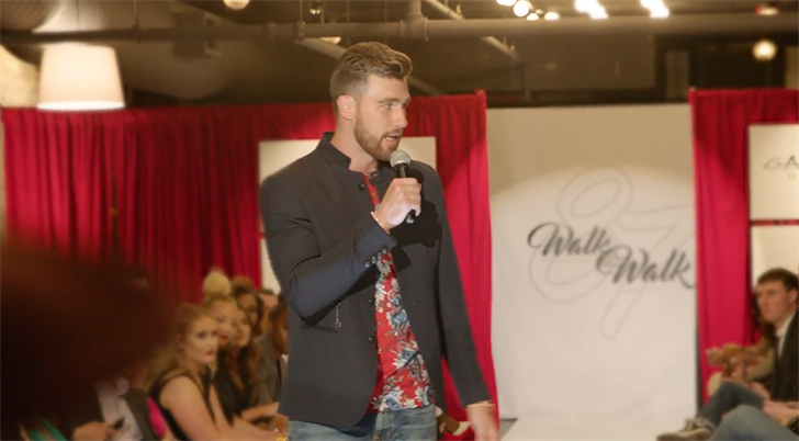 """Organizers are prepping for Travis Kelce's """"Walk the Walk"""" fashion show, a show that helps kids and families in need. (Walk the Walk)"""
