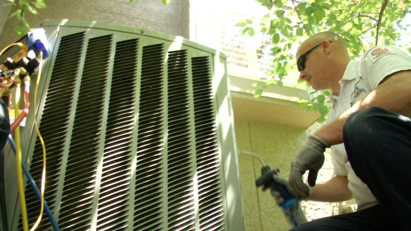 With temperatures hitting the 90s this weekend, many in the metro will be cranking up their air conditioning. (KCTV5)