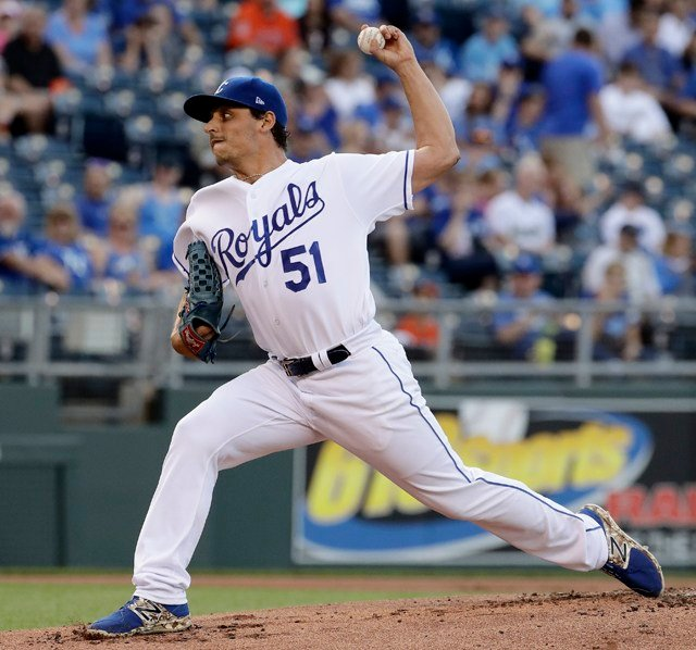 Vargas' ERA inched up from 2.08 to 2.18 in the win, the Royals' second straight over the Astros. (AP)
