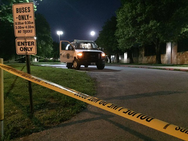 The first shooting happened about 12:45 a.m. in the 10900 block of Marsh Avenue. (KCTV5)