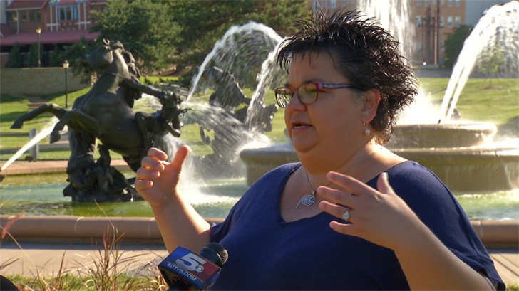 A rally is planned for Saturday morning at the J.C. Nichols fountain in response to anti-Sharia protests. (KCTV)