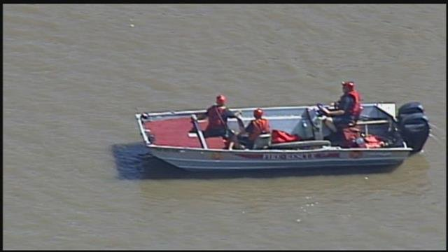 Police are investigating after a body was found in the Missouri River at Kaw Point on Friday. (Chopper5)