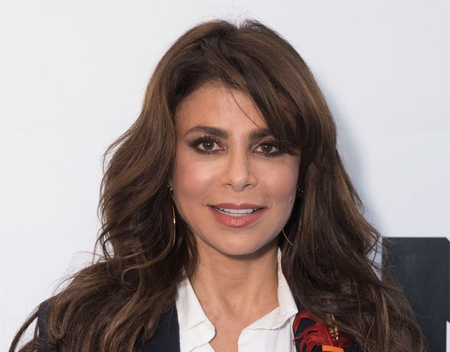 Paula Abdul has canceled her Monday performance at the Sprint Center after suffering an injury. (AP)