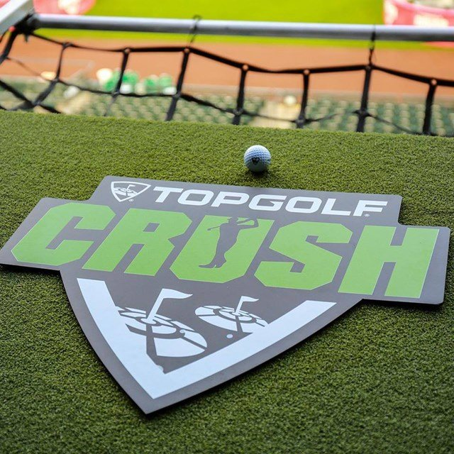 This new version of Topgolf gives golfers of all levels the chance to enjoy food, drinks and music, all while hanging out with friends and hitting golf balls toward giant targets on the field inside Arrowhead Stadium. (Topgolf/Facebook)