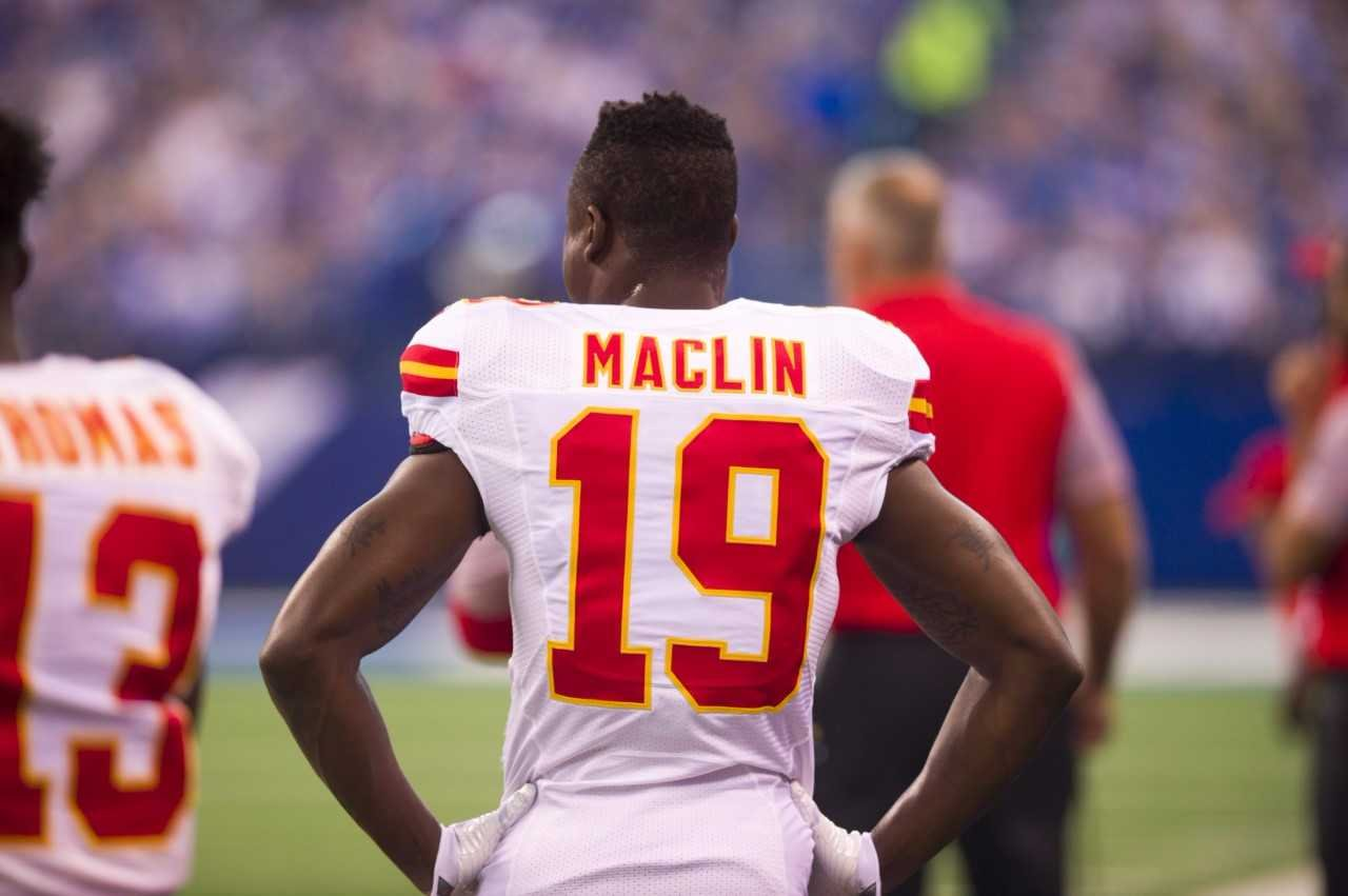 The Baltimore Ravens and former Kansas City Chiefs wide receiver Jeremy Maclin have agreed to a two-year deal. (AP)