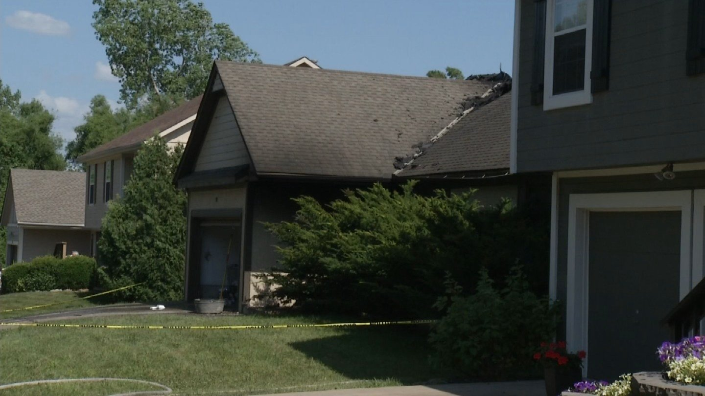 One person has died following a house fire in Kansas City.  (KCTV5)
