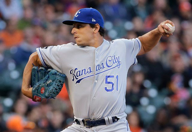 Vargas gave up five hits with six strikeouts and one walk for his fourth straight win overall and second against the Giants this season. (AP)