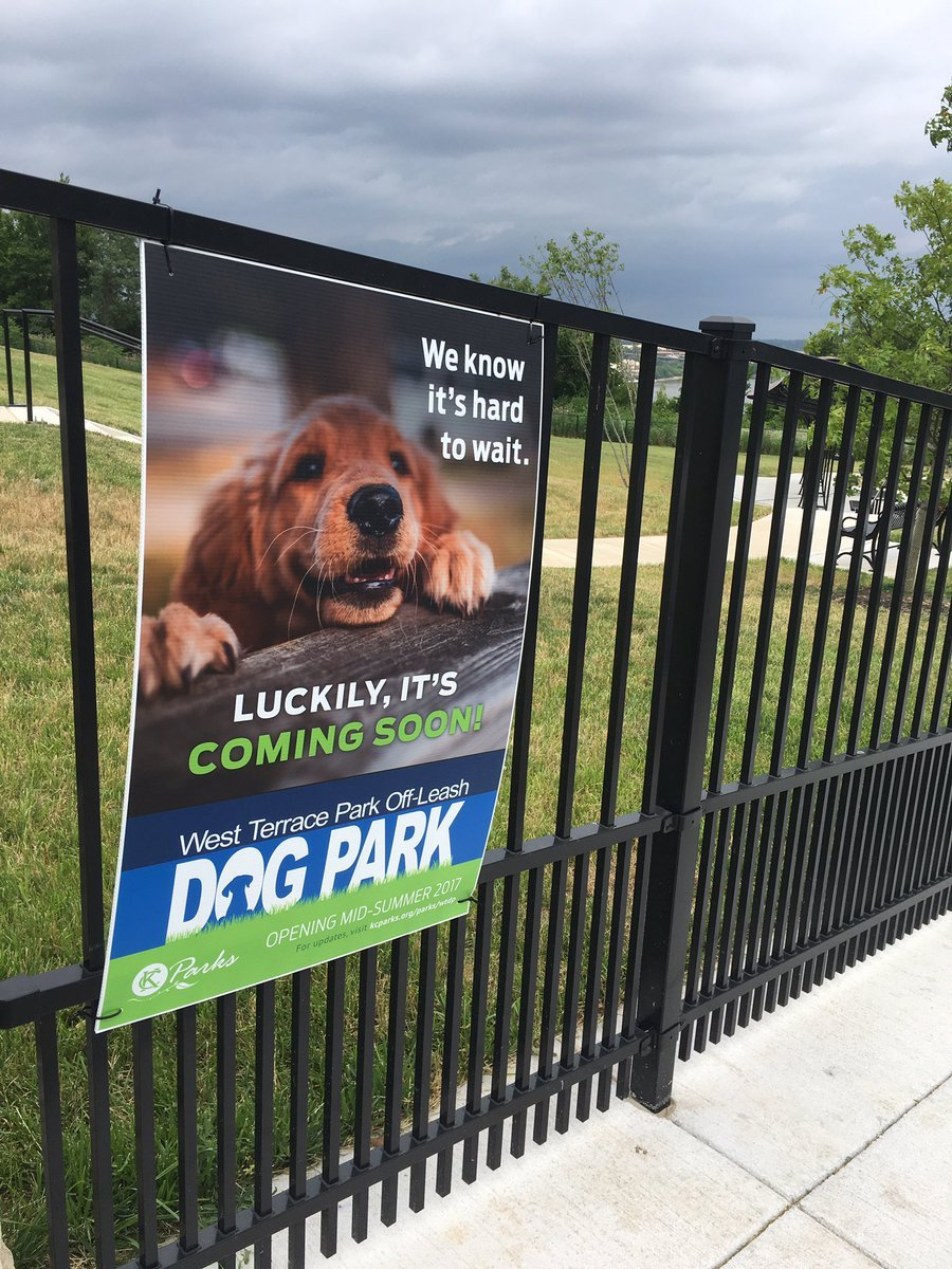 Concern is rising amongst those who want to use the West Terrace Off Leash park because it was supposed to open several weeks ago and still hasn't. (Kelli Taylor/ KCTV5)