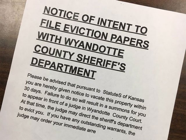 The Wyandotte County District Attorney's Office is investigating what they're calling an eviction scam that involves multiple foreclosed homes. (Ashley Arnold/KCTV5 News)