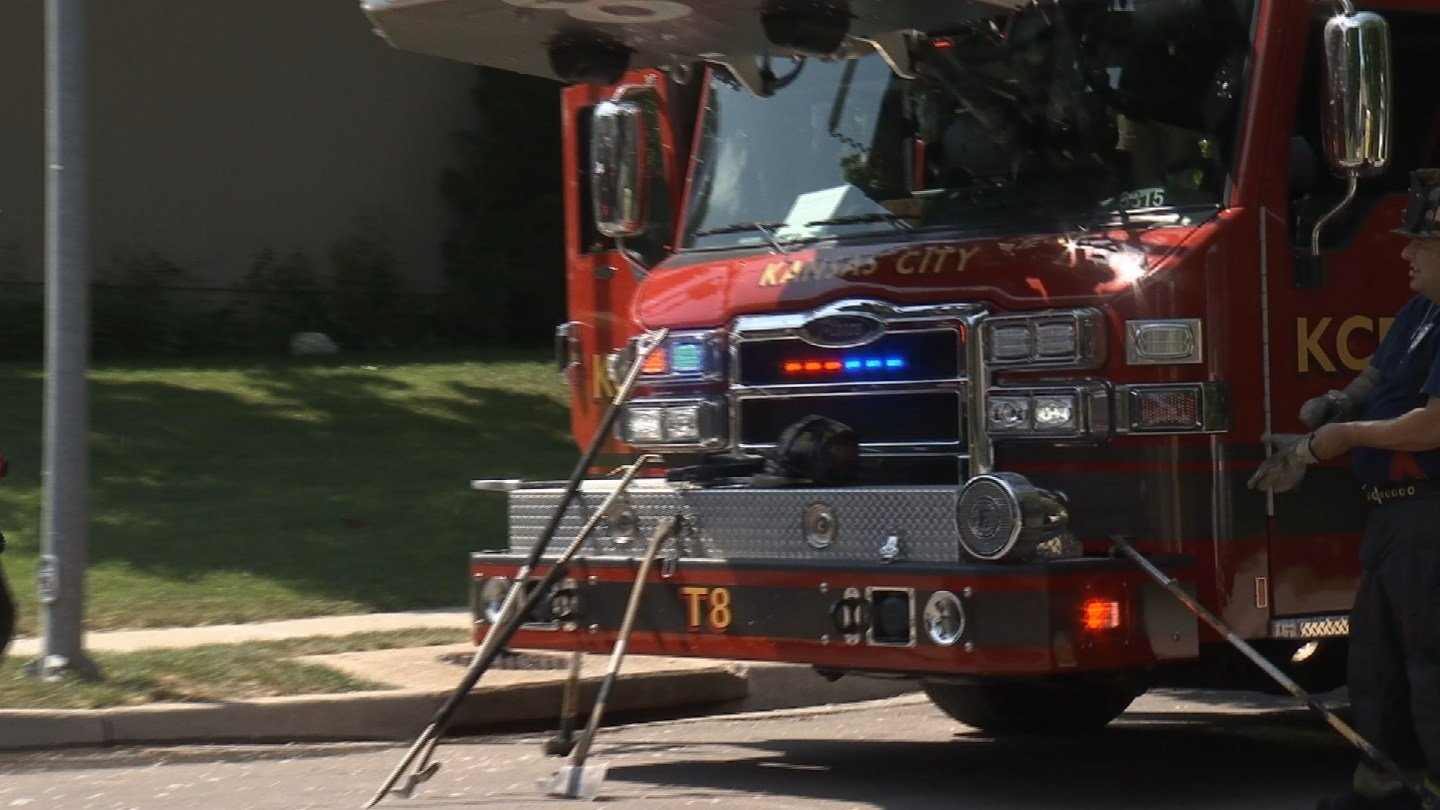 A Kansas City firefighter was in a coma after suffering heat exhaustion, and doctors are trying to determine if energy drinks may have played a part in his condition. (KCTV5)