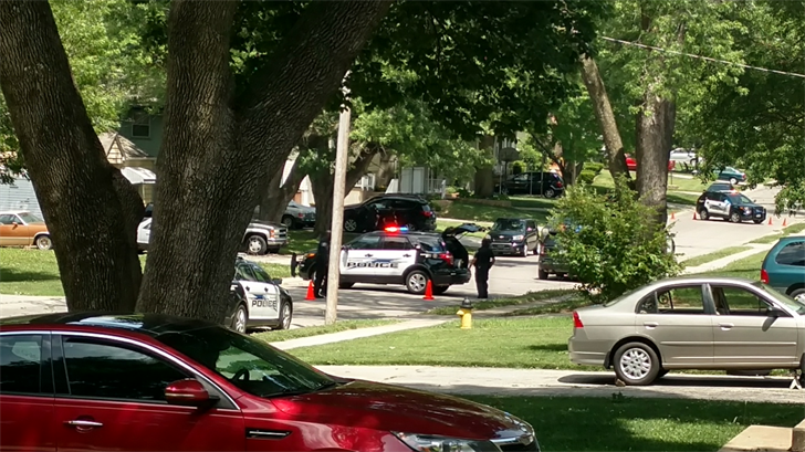 Police were investigating an armed disturbance in Shawnee on Saturday. (Submitted to KCTV5)