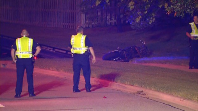 The man was ejected from the motorcycle and died at the scene. (KCTV5)