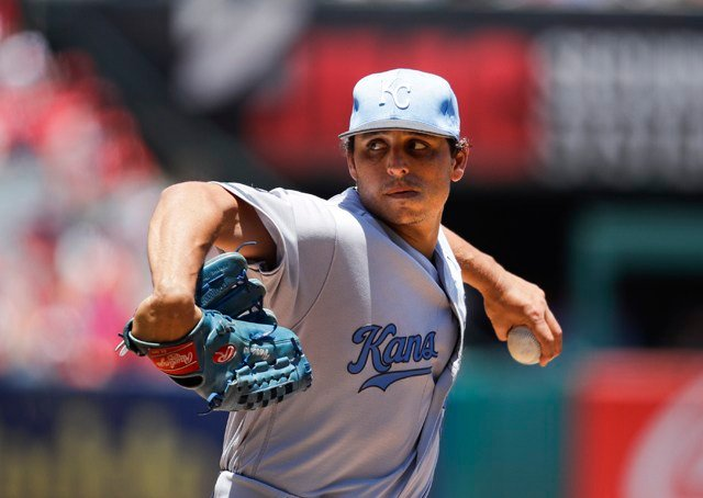 Vargas (10-3) gave up three runs and eight hits in six innings. (AP)