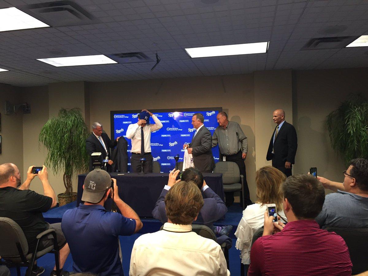 The Kansas City Royals have announced the signing of 2017 first-round draft pick Nick Pratto. (Dani Welniak/KCTV5 News)