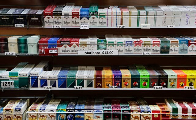 The Shawnee County commission chairman is pushing for an increase in the minimum age at which people can legally buy cigarettes from 18 to 21. (AP)