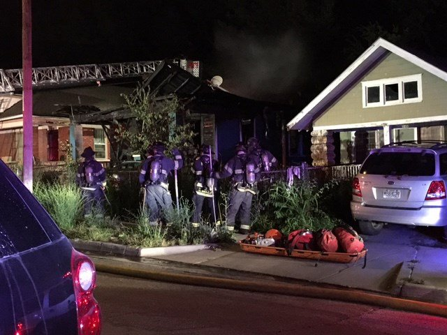 The fire happened about 2 a.m. at a home near 37th Street and Wayne Avenue. (KCTV5)