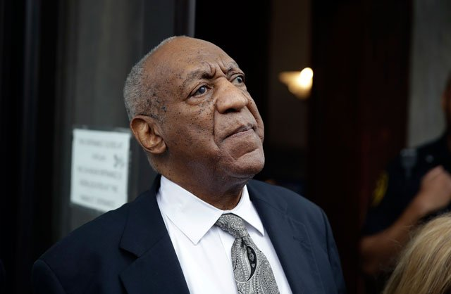 Bill Cosby exits the Montgomery County Courthouse after a mistrial was declared in Norristown, Pa., Saturday, June 17, 2017. Cosby's trial ended without a verdict after jurors failed to reach a unanimous decision. (AP Photo/Matt Rourke)