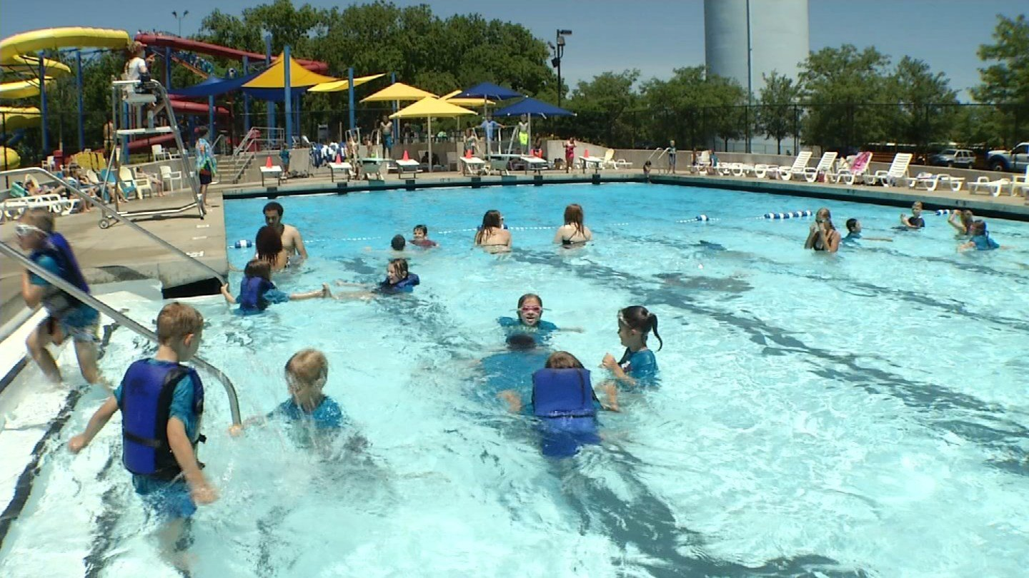 The family-friendly Summit Waves is a magnet this time of year. It has enough water and space for everyone to have fun. (KCTV5)