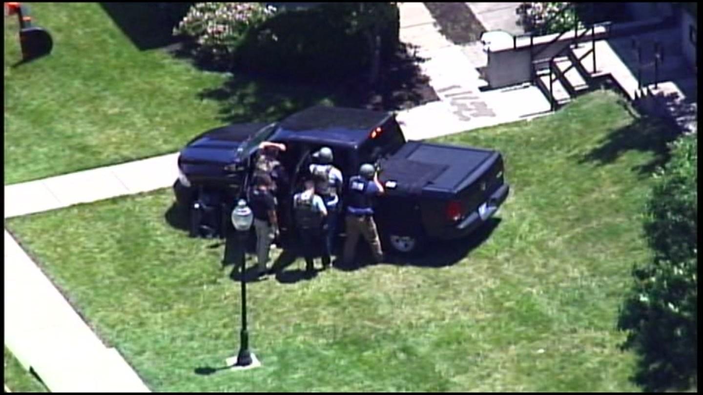The scene in the area of the 600 block of Nebraska Avenue. (KCTV)