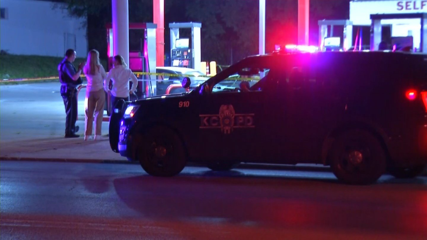 The man was attacked about 1:30 a.m. at the Inner City Oil Company gas station at 31st Street and Mersington Avenue. (KCTV5)