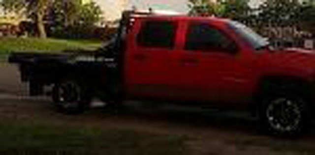 Authorities say McDowell drives a red 2008 Chevy Silverado pickup truck with a black aluminum flatbed, black rims and a black push bumper. (Ellis County Sheriff's Office)