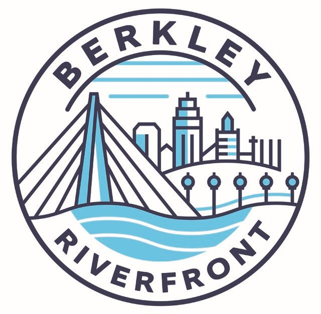 The new Berkley Riverfront logo. (Venice Communications)