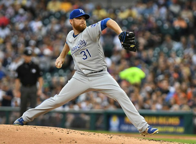 Ian Kennedy (2-6) allowed two runs and five hits in seven innings for the Royals, earning his second victory in three starts. (AP)