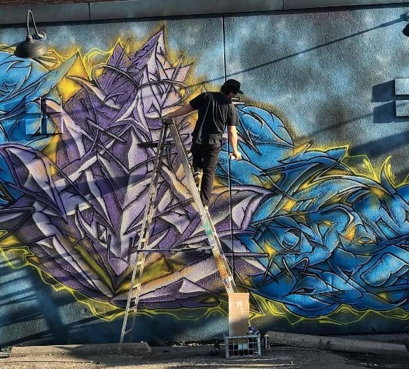 Ben Watson is the first to admit he made mistakes as a kid growing up in Southern California. When he used his first can of spray paint on a wall at the age of 12, he wasn't hired to do it. (Ben Watson)