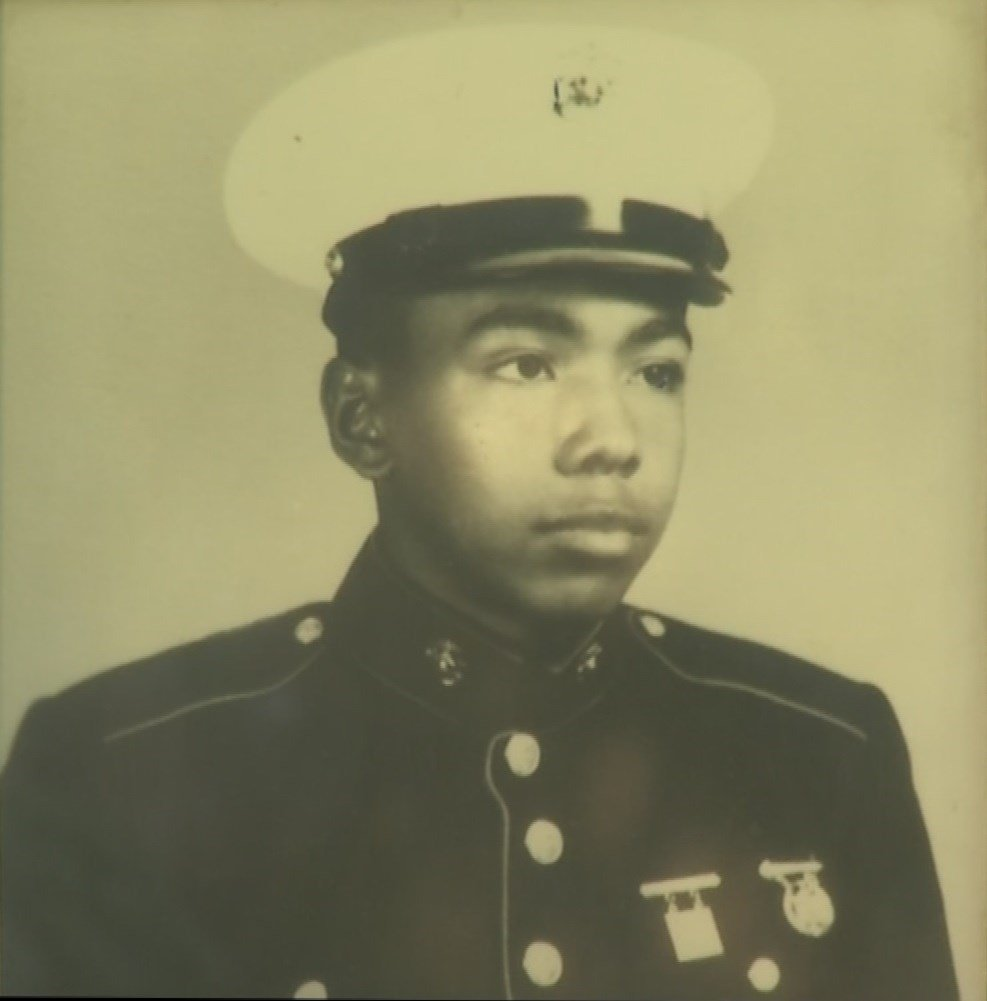 Harvey Baldwin, a Marine veteran, was found dead inside a Blue Springs home. (Picture contributed by family of Harvey Baldwin)