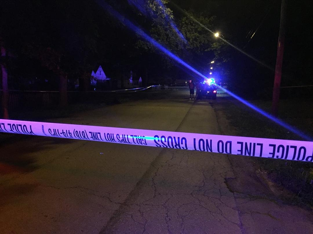 One person is dead following a shooting at the 1600 block of E. 80th St. in KCMO. (Grady Reid/KCTV5)