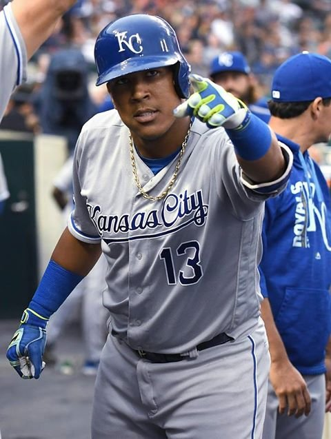 For the fifth time in his career, Kansas City Royals catcher Salvador Perez will be playing the All-Star Game. (AP)
