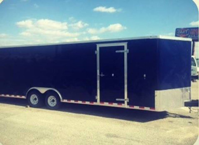 This is a stock photo of what the trailer looks like, but is not the actual trailer. (Facebook/Bates County Sheriff's Office)