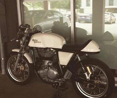 Someone stole a motorcycle from Chip Anderson, who lives near Main Street and Armour Boulevard in Kansas City. (Submitted)