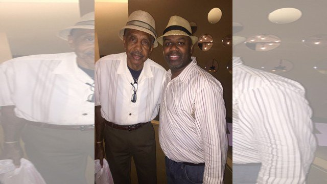 Police found Baldwin (left) dead in his home on Friday, after responding to an assault call. (Facebook/Paul Campbell)