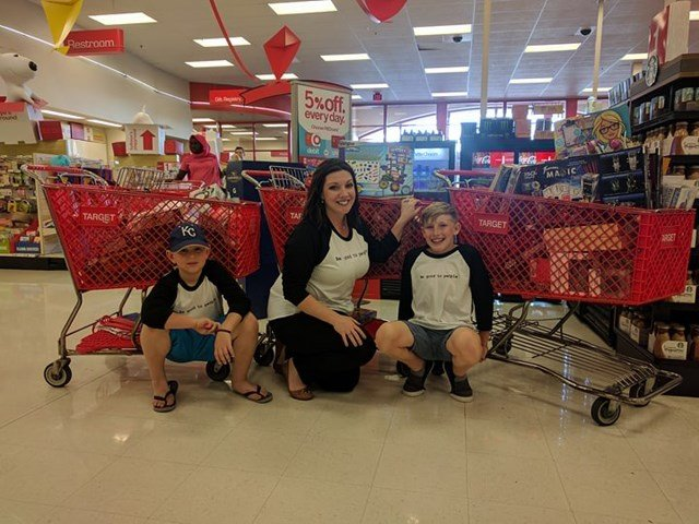 But it wasn't until their shopping extravaganza began, that Ryder realized the community had donated nearly $3,000. (KCTV5)