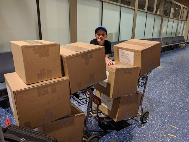 Southwest Airlines learned of Ryder's idea and offered to check all the toys for free. (KCTV5)