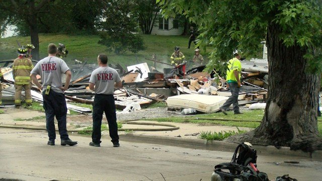 St. Joseph police have taken one man into custody in regards to the explosion. (KCTV5)